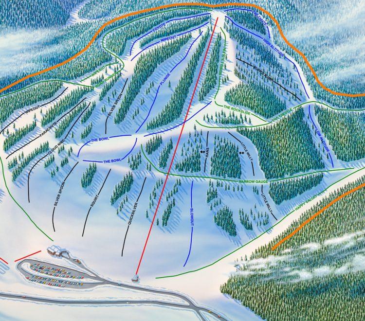 Ski Cloudcroft, New Mexico